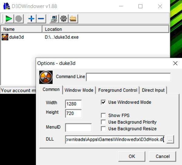 D3DWindower
