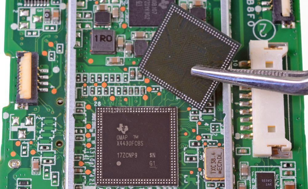 Неисправный процессор в планшете