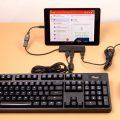Подсоединение клавиатуры