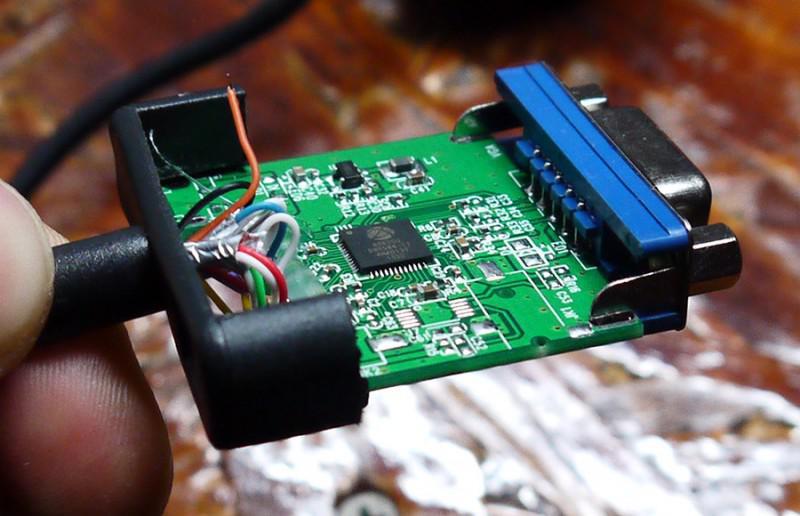 Плата конвертера DVI-D VGA