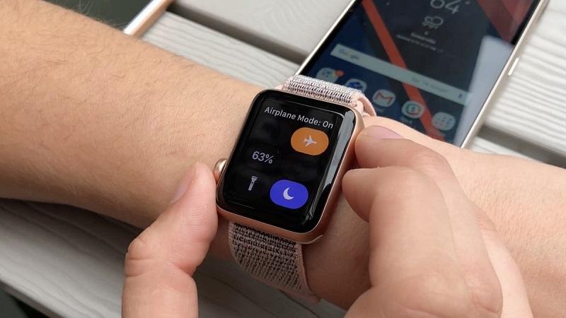 Подключение Apple Watch к Android