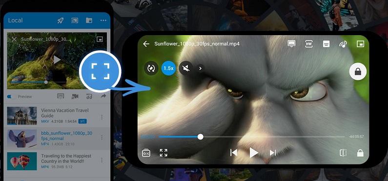 Приложение FX Player