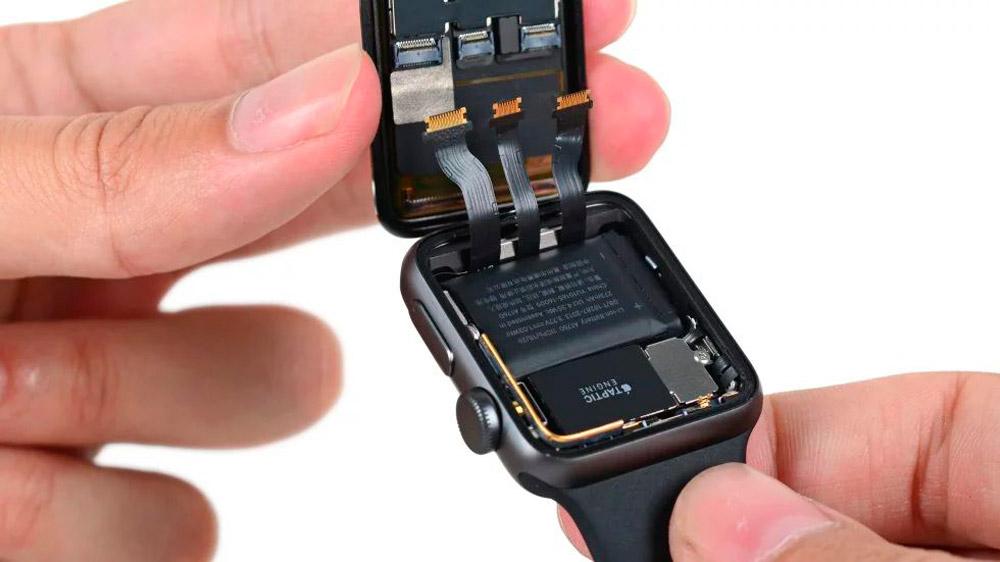 Провода у Apple Watch