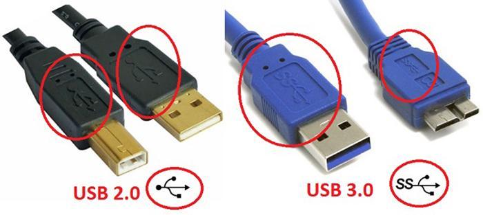 USB 3.x и USB 2.0