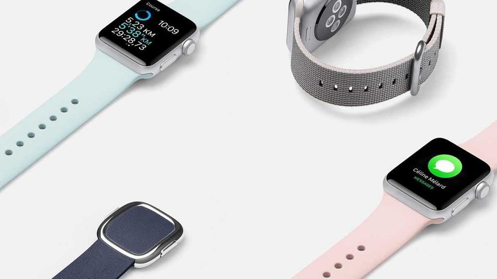 Смена ремешка на Apple Watch