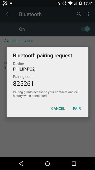 Подключение смартфона к компьютеру через Bluetooth