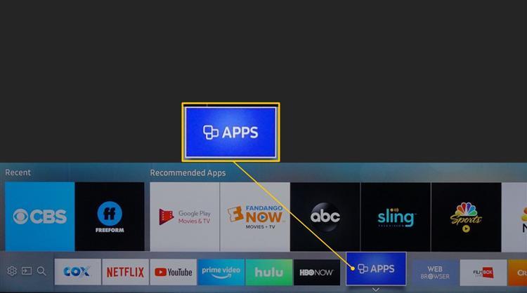 Приложения на телевизоре Самсунг