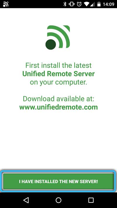 Запуск Unified Remote