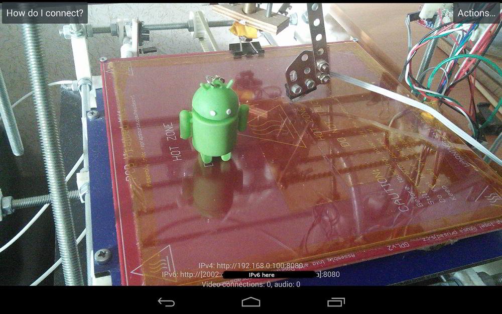 IP Webcam для Android