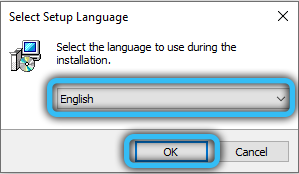 Язык установки DiskGenius
