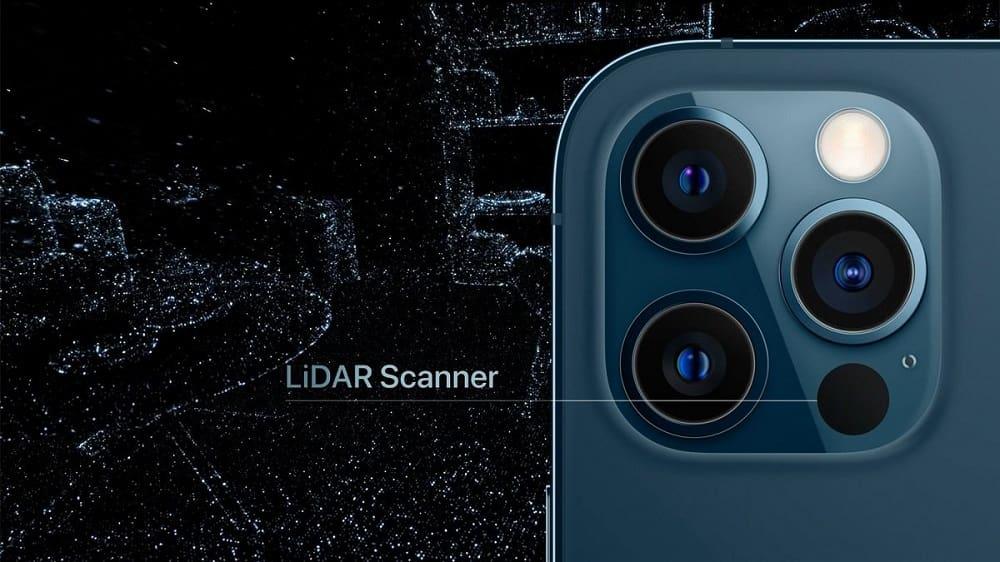 Расположение сканера в iPhone