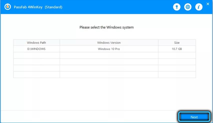 Таблица с пользователями системы