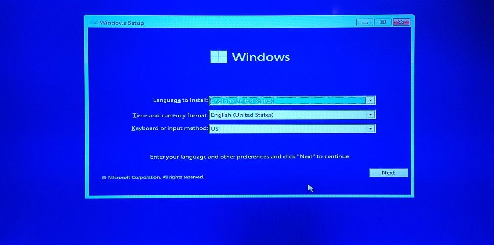 Установщик Windows 11