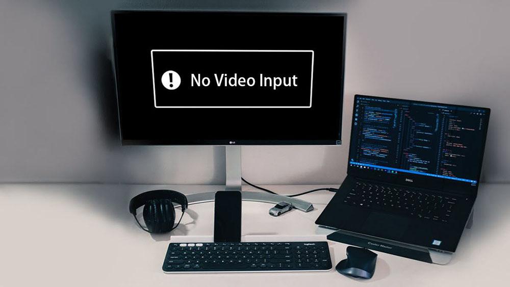 No video input на мониторе