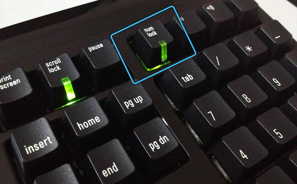 Клавиша NumLock