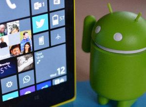 Андроид-приложения на Windows Phone