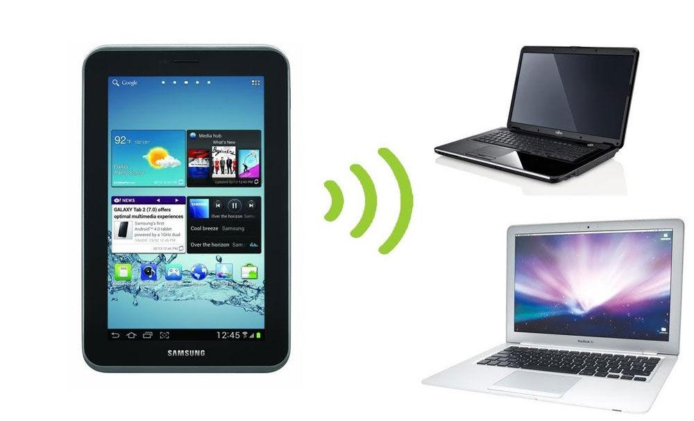 Точка доступа к Wi-Fi на смартфоне
