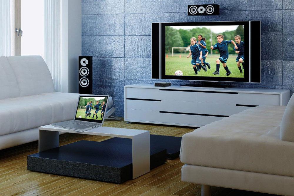 Просмотр мультимедийных файлов с ноутбука на ТВ