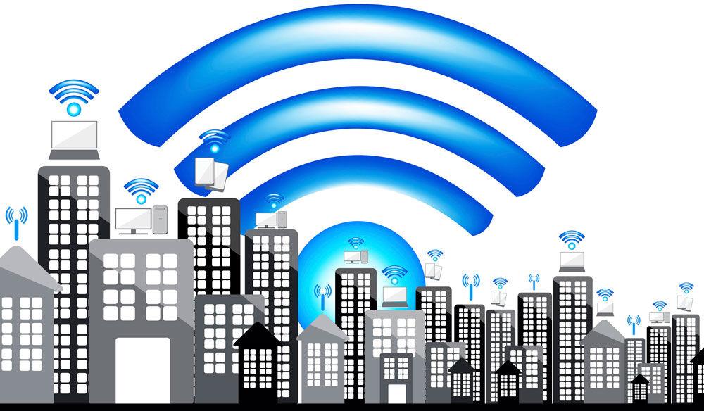 Зона действия Wi-Fi волн