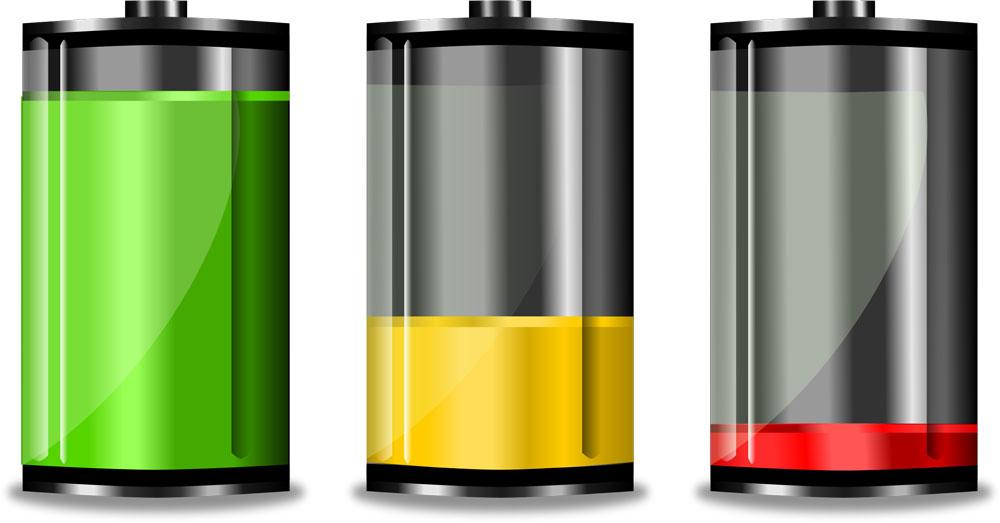 Расход уровня батареи
