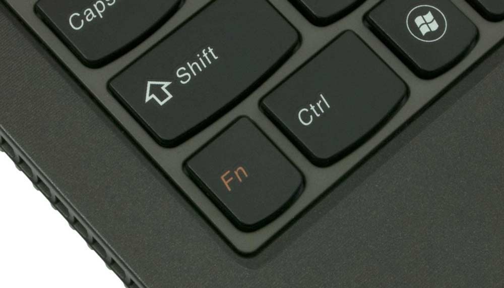 Кнопка Fn на ноутбуке