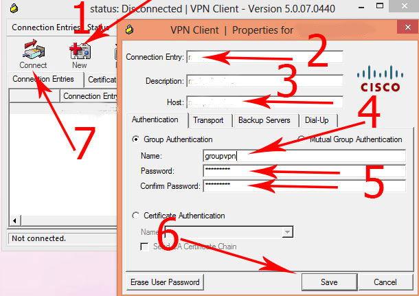 how to run cisco vpn client on windows 10