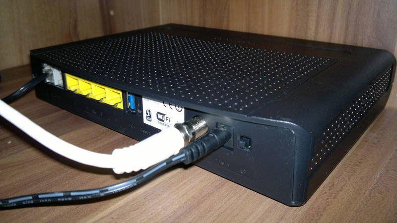 Подключение маршрутизатора к сети