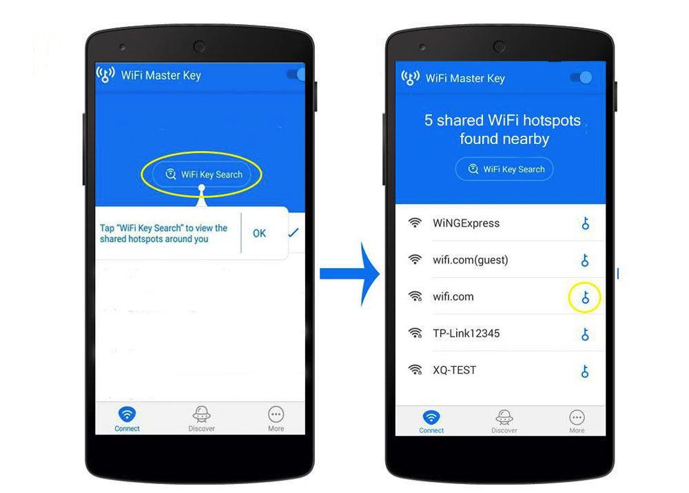 Поиск активных Wi-Fi сетей