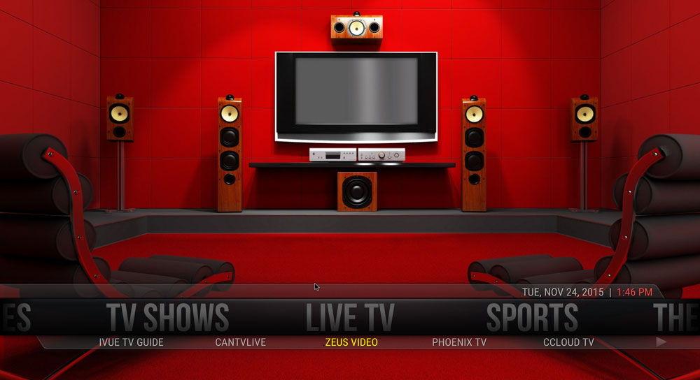Интернет-телевидение на домашнем кинотеатре