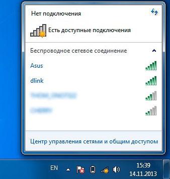 Диагностика беспроводной сети