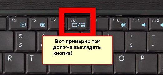 Функциональная кнопка для включения экрана