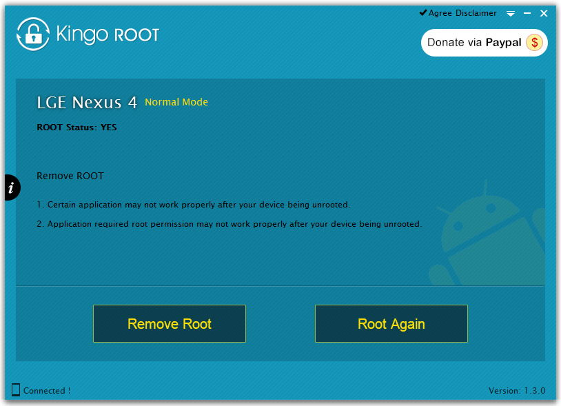 Приложение Kingo Root для ПК