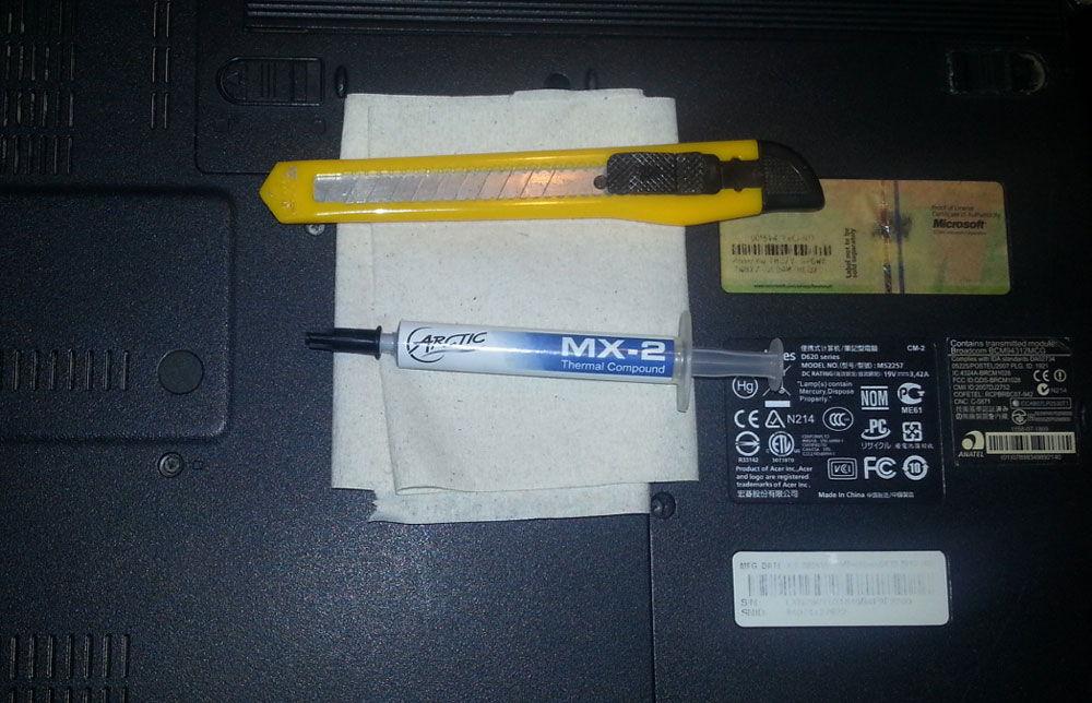 Набор инструментов для проведения работ