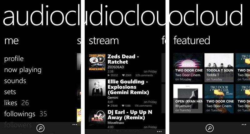 Audiocloud для музыкальных фанатов