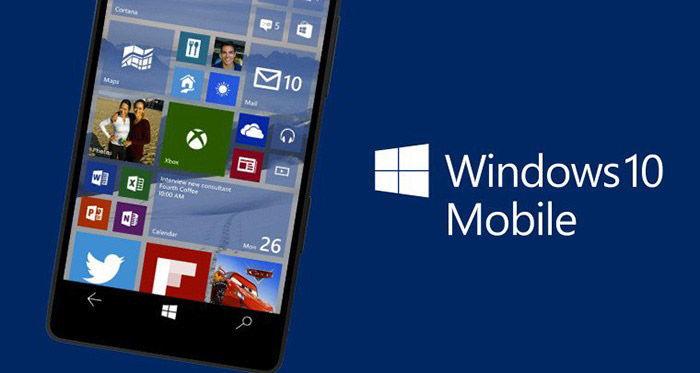 Обновление системы до Windows 10 Mobile