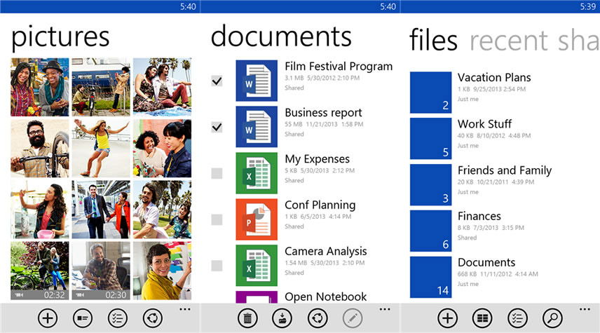 Резервная копия в OneDrive