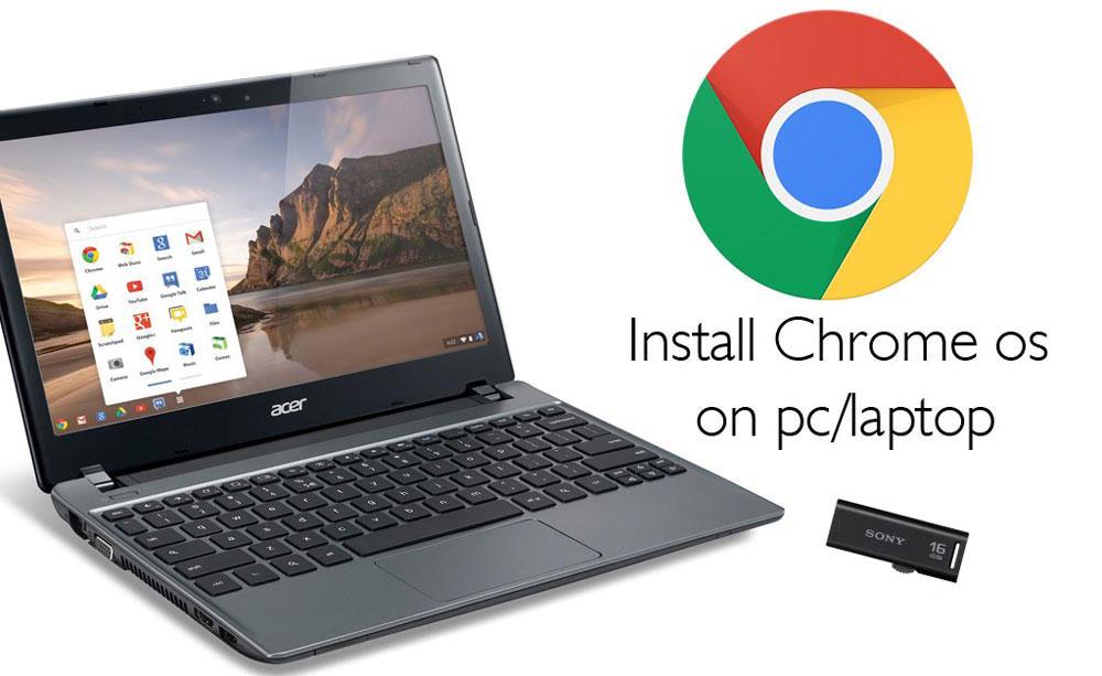 Установка операционной системы Chrome OS
