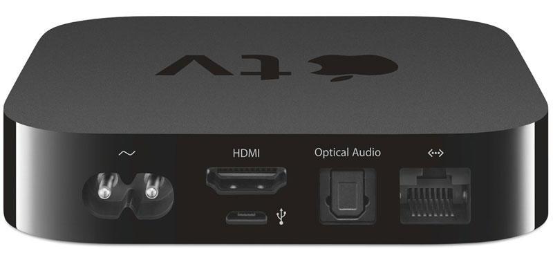 Приставка Apple TV для подключения устройств
