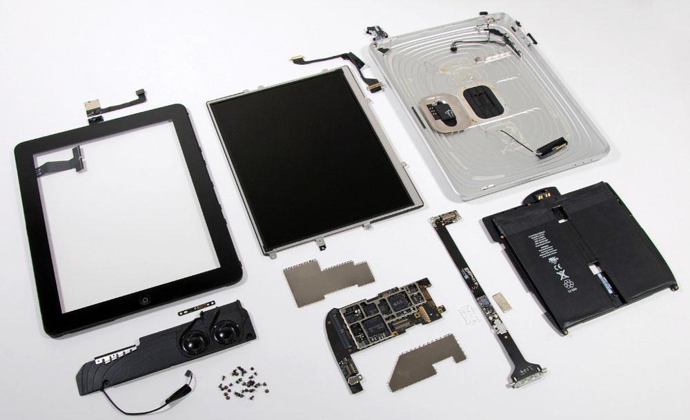 Разборка Apple устройств
