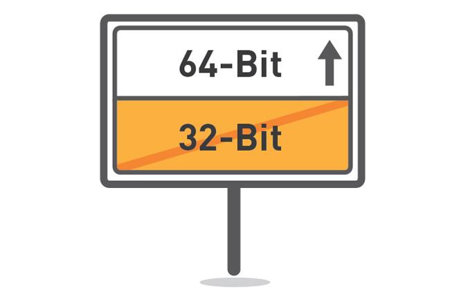 Переход с 32bit на 64bit