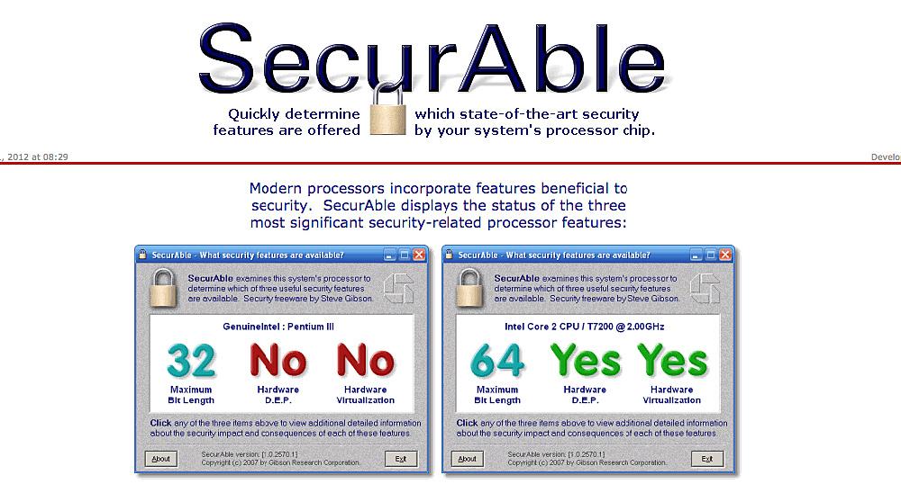 SecurAble оценит возможности процессора