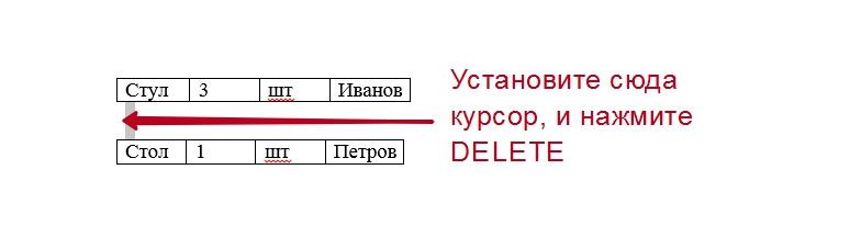 Соединить таблицы