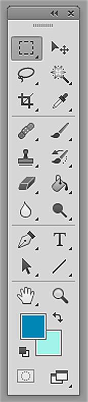 Панель инструментов Фотошоп