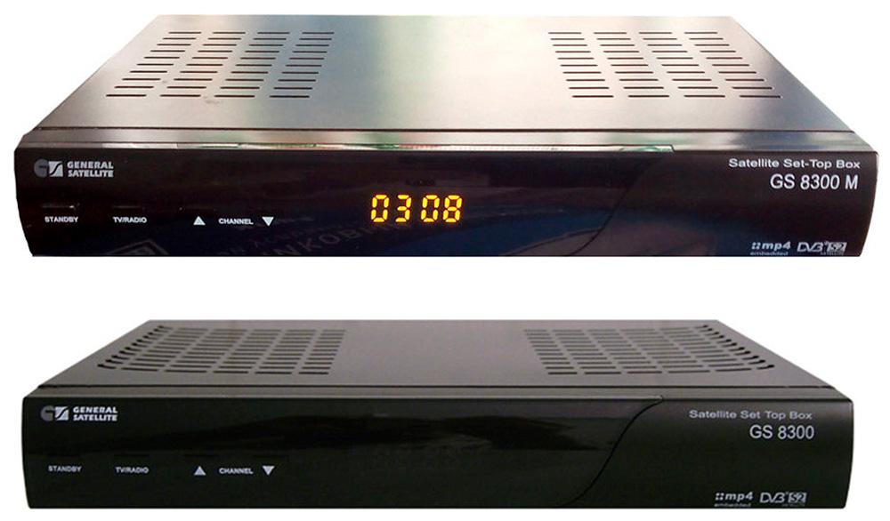 Ресиверы GS-8300, GS-8300M