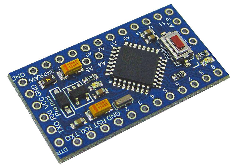 Перепрошиваем Arduino Pro Mini