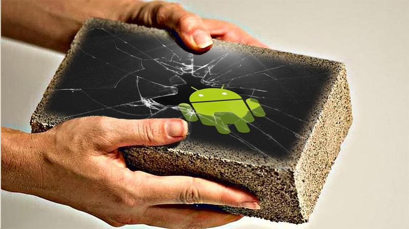 Android кирпич