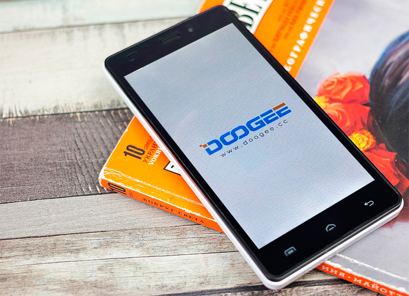 Doogee X5 Pro запуск