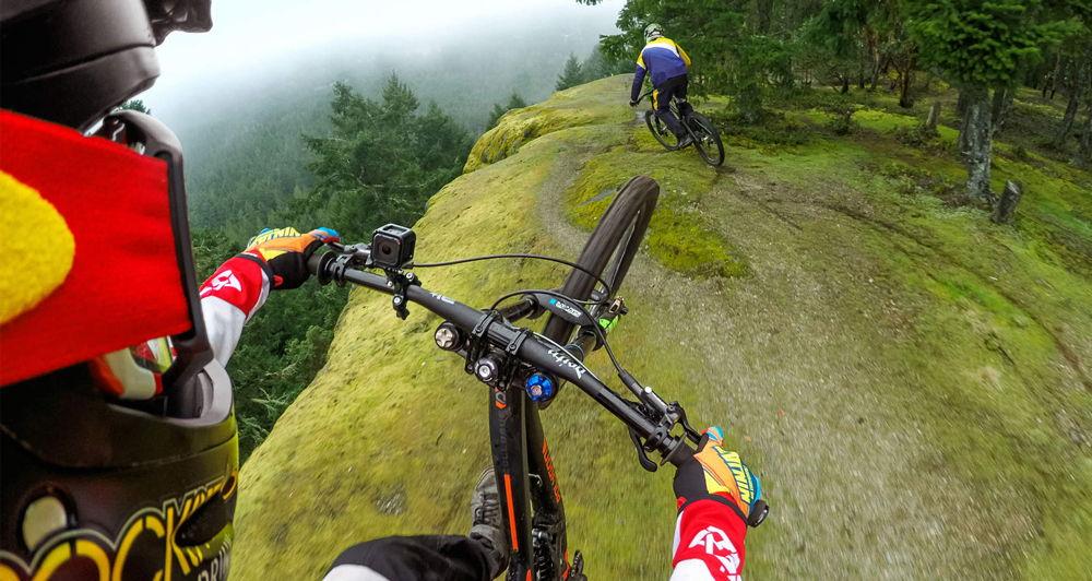 Езда на велосипеде по горам