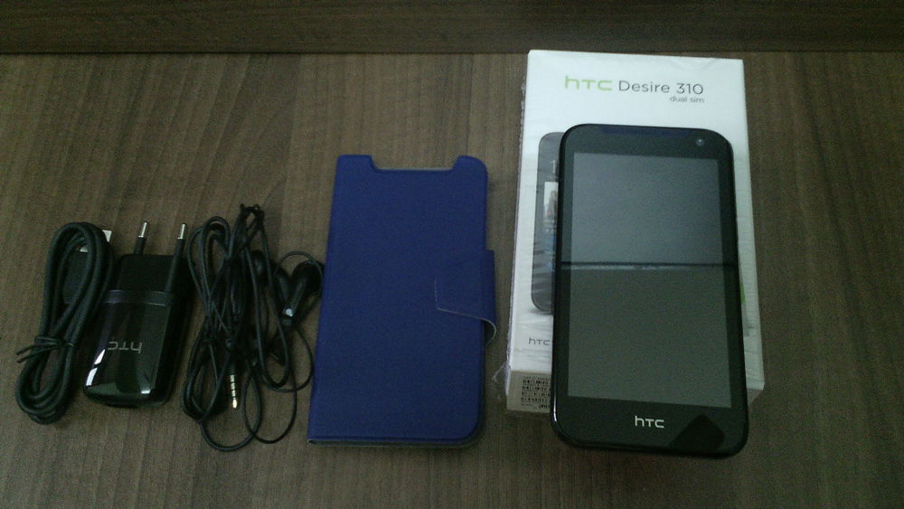 HTC Desire 310 SS с коробкой и наушниками