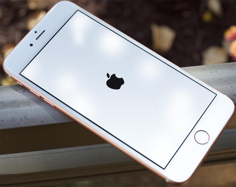 iPhone перезагрузка
